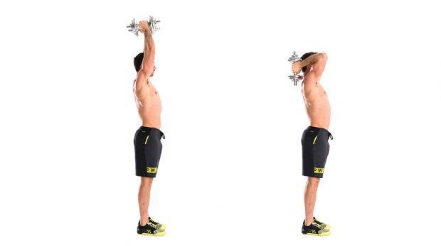 Vücut geliştirme triceps extension