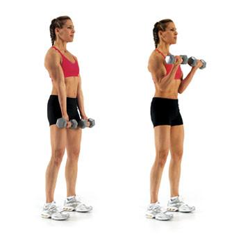 Biceps curl nasıl yapılır
